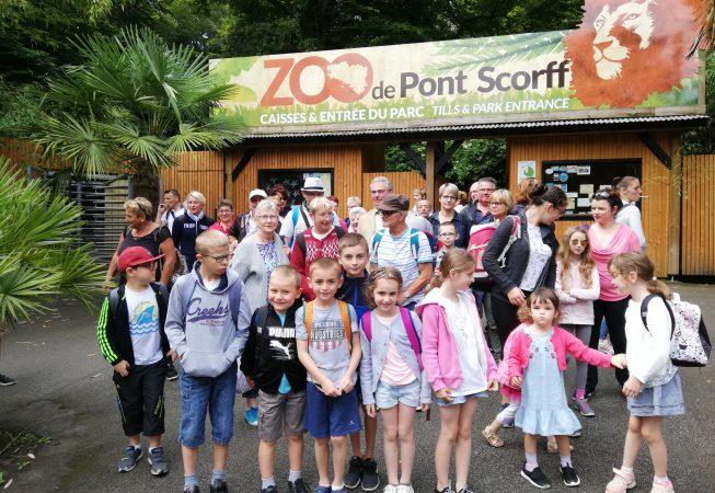 Sortie au Zoo de Pnt-Scorff