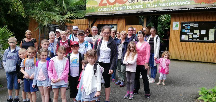 Sortie au zoo de Pont-Scorff