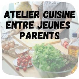 Atelier cuisine entre jeunes parents